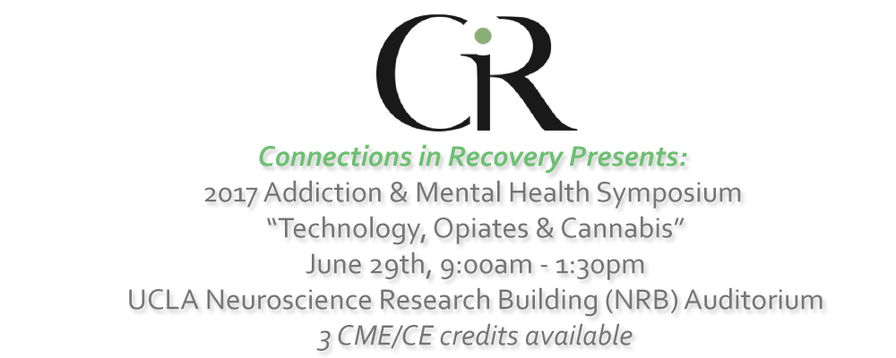 Connections in Recovery Presents:   2017 Addiction & Mental Health Symposium
